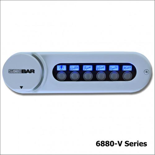 6880V White Base White Spout Complete System