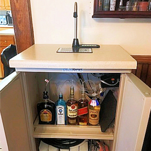 Gellner H Series Bar Cart