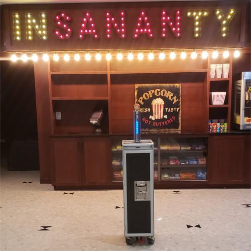 'Insananty' Cocktail Trolley with LT6880 Tower - Custom Job!