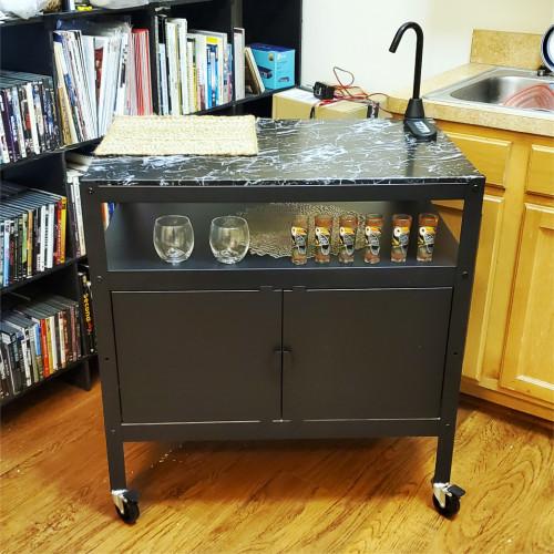 Bar Cart Install 2