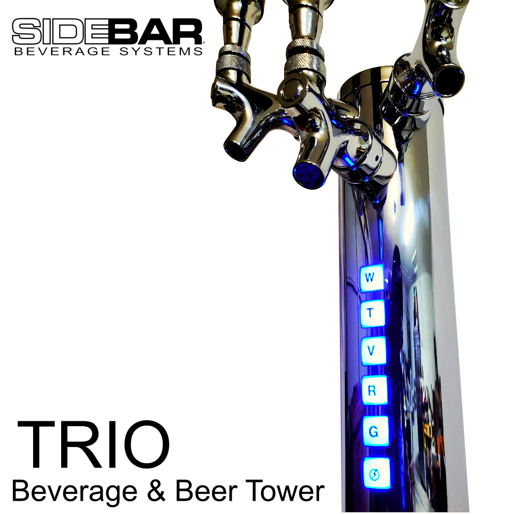 SIDEBAR TRIO Beverage / Beer Tower