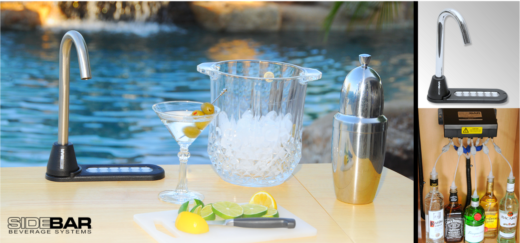 SIDEBAR Liquor Dispenser Pool Side