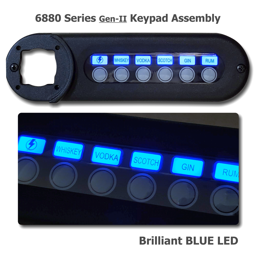NEW! - 6880 New Design Complete Keypad Assembly