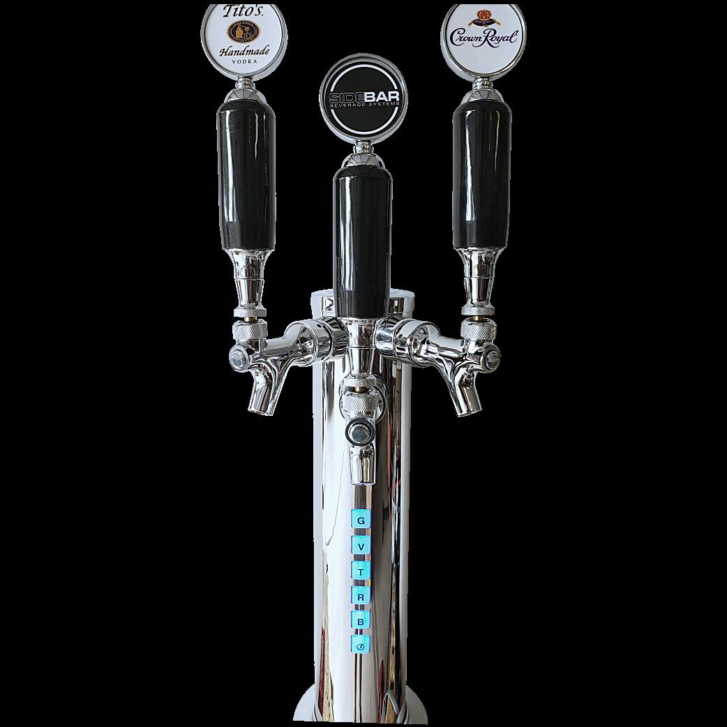 SIDEBAR TRIO Beverage / Beer Tower